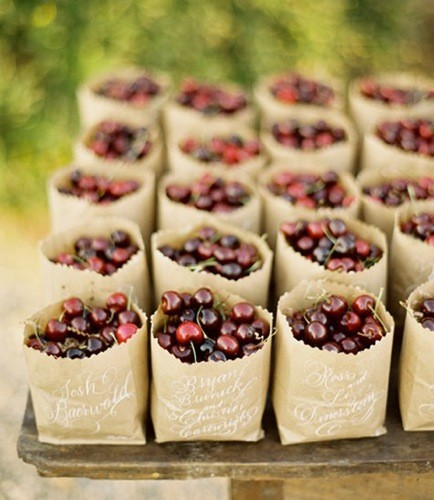Cherry-Wedding-Favors